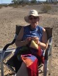 Ruth, my temporary travel partner